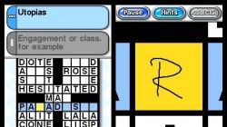 Screenshot for Nintendo Presents Crossword Collection - click to enlarge